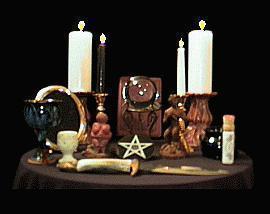 Магический ритуальный алтарь